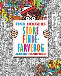 Find Holgers store finde farvebog Forlaget Alvilda