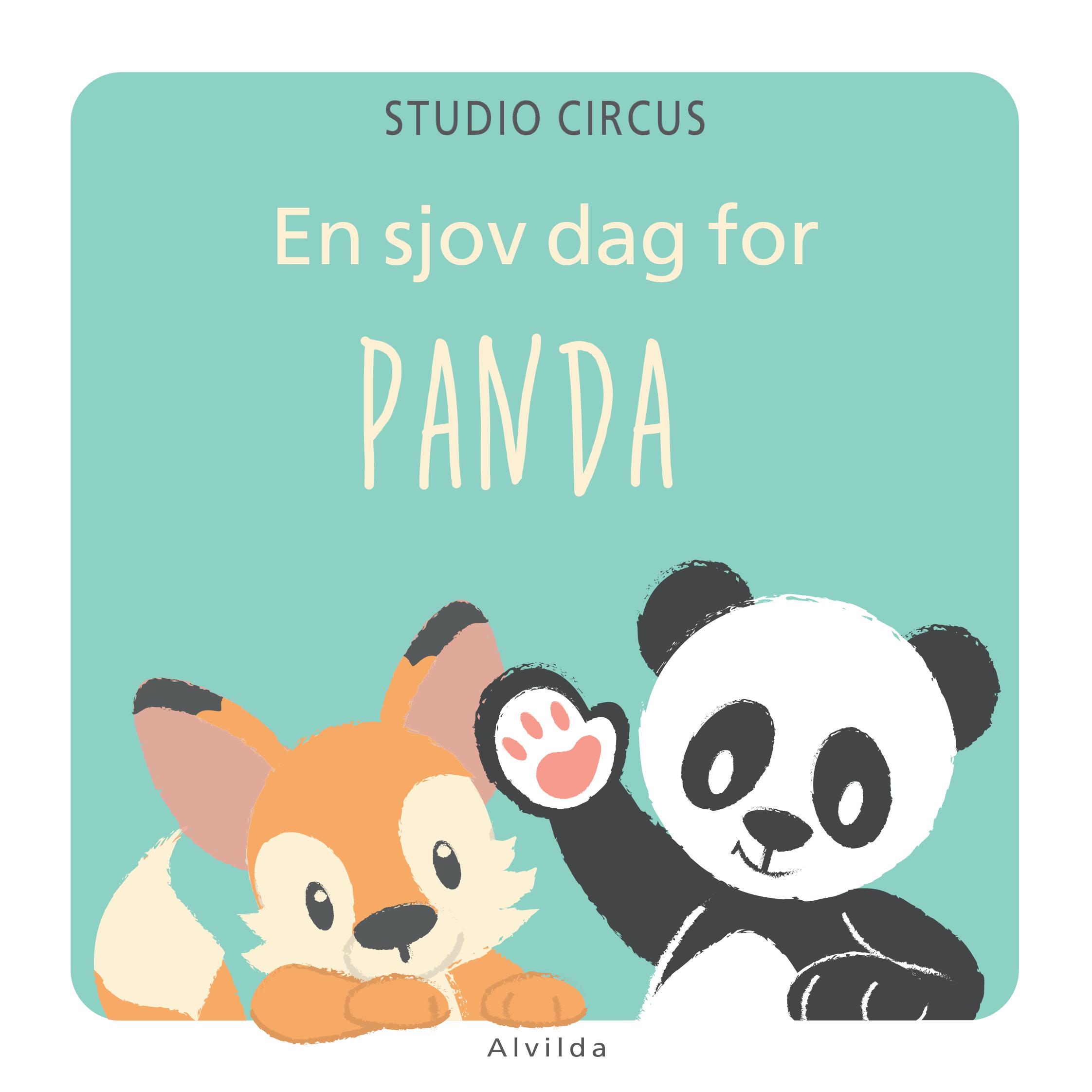 nuttet tegninger af en panda